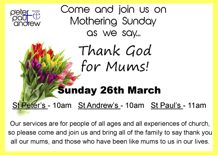 mothering sunday graphic